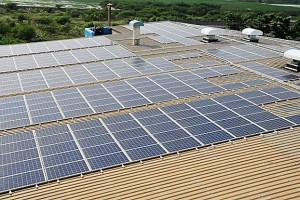 Fotovoltaik-Indien