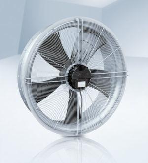 Die Transformatorventilatoren gibt es in den Baugrößen 500 mm bis 1.250 mm