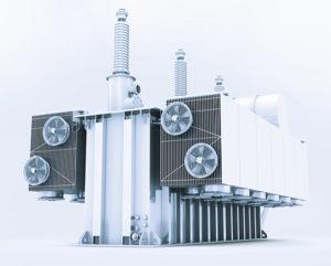 Die an den Kühlsystemen großer Transformatoren eingesetzten Ventilatoren müssen harten Bedingungen trotzen.