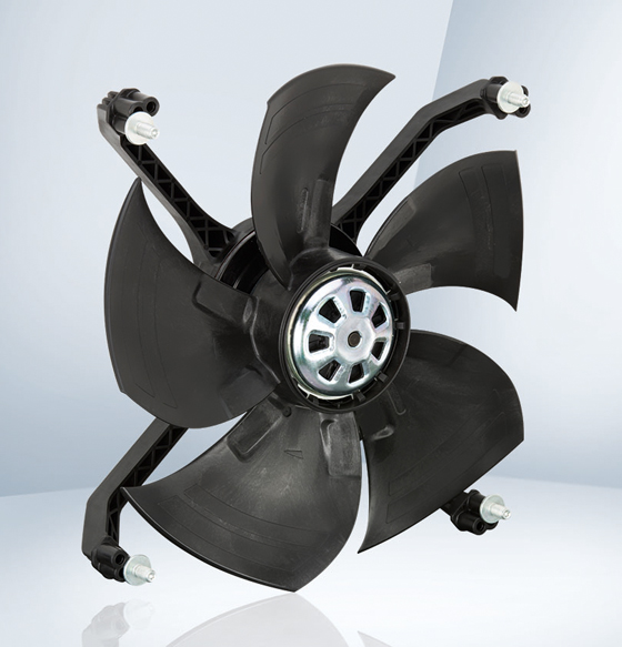 The energy-saving fan developed specifically for evaporator applications.