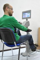 Orthorent's rehab machines with electric motors work quietly and actively protect patients against muscle spasms.